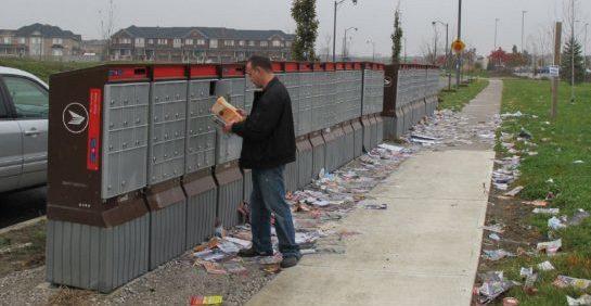 mailbox mess